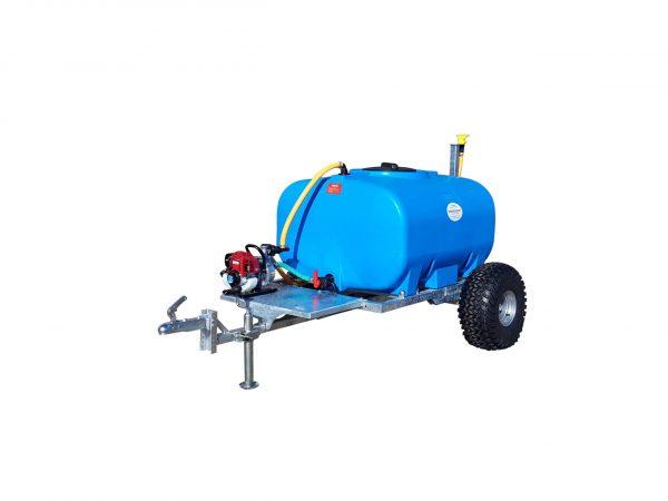 Stofbestrijding watertank aanhanger