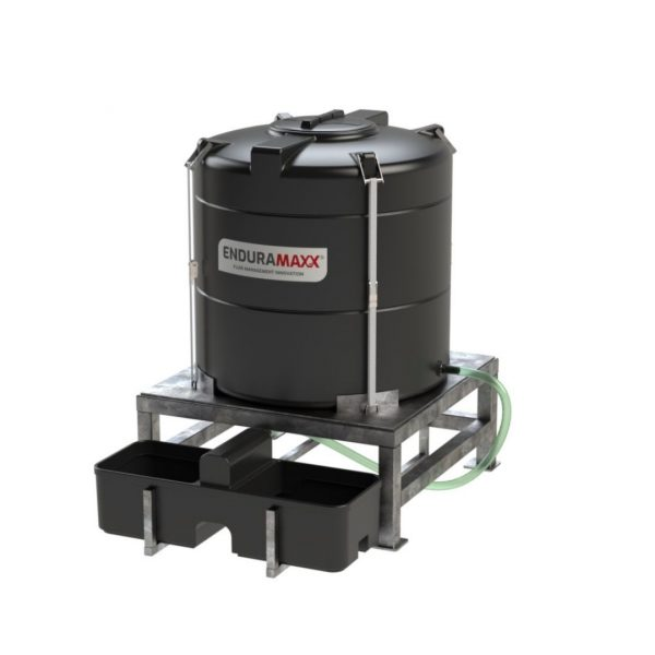Weidewatervat 1200 liter drinkbak
